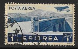 Eritrea, Scott # C11 Used Bridge,1936 - Eritrea