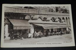 26- Au Quay De Plaisance, Rest. Tearoom Monte Carlo - Frankrijk