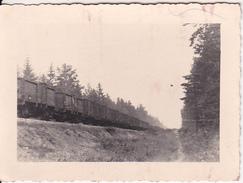 Foto Polenfeldzug - Güterzug -  1939- 9*5cm (26212) - Krieg, Militär