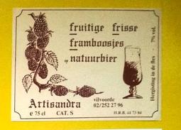 Beer Label Belgium Achouffe Artisandra - Beer