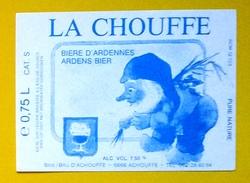 Beer Label Belgium Achouffe La Chouffe - Beer
