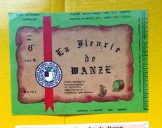 Beer Label Belgium Achouffe La Fleurie De Wanze - Beer