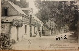 CPA-54 - SAVONNIERES - HOTEL RESTAURANT DE LA GARE R. CHARRIER - Other Municipalities