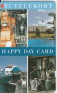 DENMARK - Happy Day Card, Tirage 1500, 03/96, Mint - Danimarca