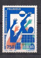 ITALIA  1995 PALLAVOLO SASS. 2165 MNH XF - 6. 1946-.. Repubblica