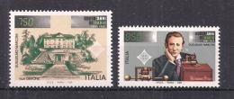 ITALIA  1995 RADIO G.MARCONI SASS. 2172-2173 MNH XF - 6. 1946-.. Repubblica