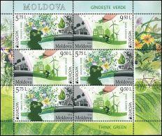 "Moldova 2016 ""EUROPA CEPT.Think Green"" MS Quality:100% - 2016"