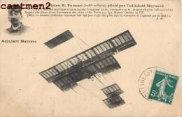 L'ADJUDANT MAYNARD SUR BIPLAN FARMAN AVIATEUR AVIATION - Aviateurs