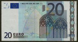 Finland - L - 20 Euro - H006 - L26101955705 - Trichet - Circulated - EURO