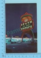 "South Carolina USA - On Interstate 95 Where The Two Carolina Meet ""PEDRO"" - Postcard Post Card 2 Scans - Non Classés"