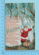 Santa Claus -The Origin Of Spanish Mass  - Postcard Post Card 2 Scans - Santa Claus