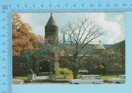St. Johnsbury Vermont  - Old Car In Front Of The Fairbank's Museum - Postcard Post Card 2 Scans - Etats-Unis