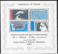 Frankreich 1975 / MiNr.  Block 5   ** / MNH   (o3854) - France