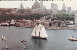 CANADA---LE BLUENOSE II Devant QUEBEC----voir 2 Scans - Québec - Les Rivières