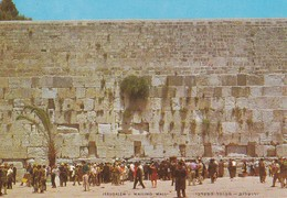 ISRAEL----JERUSALEM---wailing Wall---voir 2 Scans - Israel