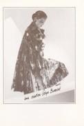 MODE----carte De Voeux---une Création SERGE BASSIBE--1985---voir 2 Scans - Fashion