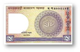 BANGLADESH - 1 Taka - ND ( 1982 ) - Pick 6 B.c - Unc. - See Signature Six Varieties - 2 Scans - Bangladesh