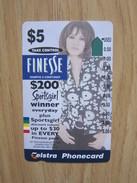 Anritsu Phonecard,Finesse Advertisement,used - Australia