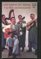 """AK Musiker Luis Alberto Del Parana Und """"Los Paraguayos"""" Musizieren Zusammen - Muziek En Musicus"""