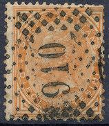 Stamp,Francobollo Italy 1863-77  10c King Victor Emmanuel II Used Lot#77 - Used