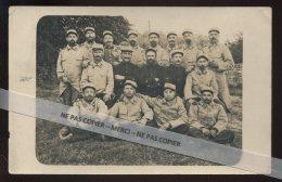 GUERRE 14/18 -  238 E R.I. FRONT DE VERDUN (MEUSE) JUIN 1916 - FORT DE VAUX DISSOUT EN JUIN 1916 - CARTE PHOTO ORIGINALE - Oorlog 1914-18