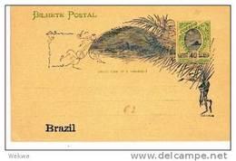Br101/  BRASILIEN - Rio Bay, 1 Stern, Bild ** - Postwaardestukken