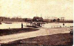 N°29726 -cpa Walberswich Ferry - Angleterre