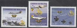 BOLIVIA      SCOTT NO. 1181-83        MNH     YEAR   2002 - Bolivia