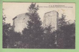 Notre Dame De BONENCONTRE, Martinet : Ruines D'un Manoir Fortifié. 2  Scans. Edition ? - France