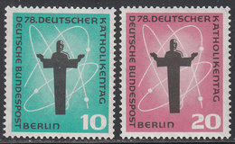 GERMANY- BERLIN      SCOTT NO. 9N162-63     MNH    YEAR   1958 - [5] Berlin