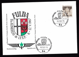 Germany: Commemorative Cover, 1967, 1 Stamp, Cancel Esperanto Conference, International Language (traces Of Use) - [7] West-Duitsland