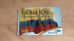 Israel-LA MEJOR-(bezeq International)-(1200units)-used Card - Israel