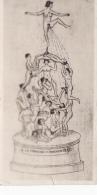 Cpa Photo-dessin Erotique-la Fontaine Des Innocents - Dessins
