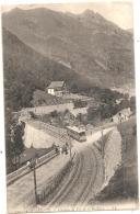 -65-  CAUTERETS  Chemin De Fer De La Raillère -  Timbrée TTB Belle Vue Du Train - Cauterets
