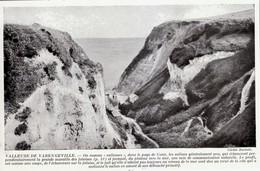 1950 - Iconographie Documentaire - Varengeville-sur-Mer (Seine-Maritime) - La Valleuse - FRANCO DE PORT - Old Paper