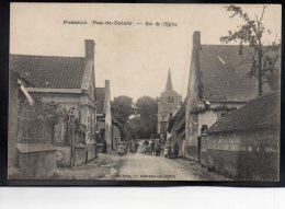 FOSSEUX 62 - Rue De L'Eglise - Jolie Animation - Autres Communes