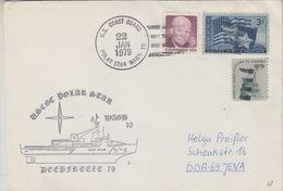 USA 1979 Deep Freeze 79 / Polar Star Cover (34219) - Poolshepen & Ijsbrekers