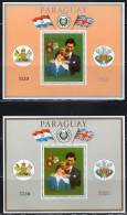 PARAGUAY - 1981 - 2 BLOCS N° 362 A/b **  - LADY DIANA - Paraguay