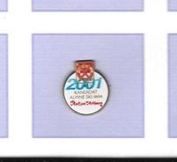 Pin´s  Sport  J.O  2001  KANDIDAT  ALPINE  SKI - WM  St  Anton  Arlberg - Jeux Olympiques