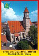 1 AK Deutschland Bayern * Die Stadtkirche St. Maria In Gunzenhausen * - Gunzenhausen