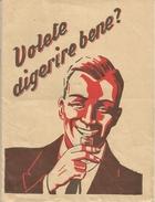 Bologna, 1939, Volete Digerire Bene? Amaro Zara Di Romano Vlakov, Opuscolo Illustrato Pp. 16, Cm. 12 X 16. - Altre Collezioni