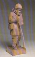 Saint-Jean-Port-Joli Québec Canada - Wood Sculpture By G. Michaud - Arts & Craft - Handicraft - 2 Scans - Sculptures