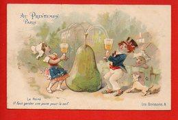 Illustrateur - ALCOOL - Fantaisie - Le Poiré - Les Boissons A - Au Printemps Paris - Cartes Postales