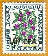 Réunion C.F.A. **LUXE 1971 Taxe 54 - Portomarken