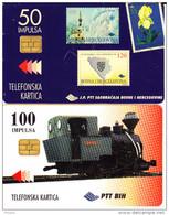 2 Télécartes Usagées Différentes. (CT47) - Bosnia
