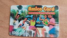 Israel-amico Card International Prepiad Calling Card-(1000units)-mint - Israele