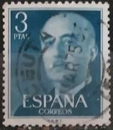 ESPAÑA 1955- 1956. FRANCO. FECHADOR CEUTA. USADO - USED. - 1931-Hoy: 2ª República - ... Juan Carlos I