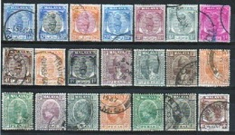 Malaysia Various States Small Selection Of Different Early Stamps. - Grande-Bretagne (ex-colonies & Protectorats)