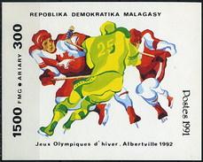 Madagascar HB 73 ** MNH. 1991 - Madagascar (1960-...)