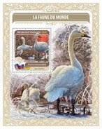Togo. 2016 National Bird Of Russia. (418b)